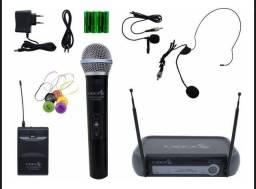 Microfone sem fio / transmissor UHF
