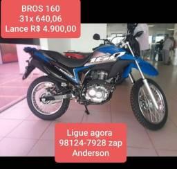 NXR BROS 160 Lance R$ 4.900,00 Consórcio Andamento