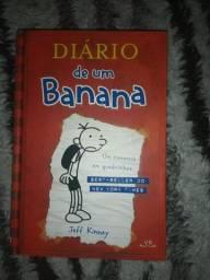 Livro Diário de Um Banana 1 - capa dura