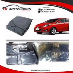 Título do anúncio: Tapete Carpete Vinil Verniz Grafite Hyundai Hb20 Hatch