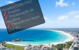 RJ Cabo Frio diárias ou pacotes feriados NOVEMBRO 2020
