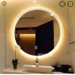 Espelho redondo com led (Novo)