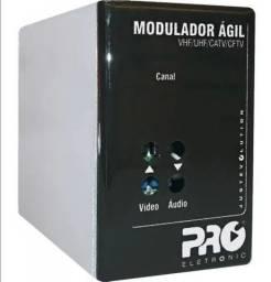 Modulador Ágil Uhf/Catv/Cftv PQMO-2600G2 - Usado