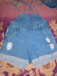Short jeans, usado duas vezes!!