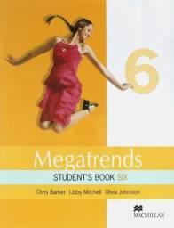Livro Ensino Inglês Megatrends Six 6 Student's Book Editora Macmillan Impecável Novinho!