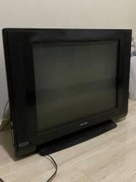 TV PHILIPS tela plana em ótimo estado. Funcionando perfeitamente.