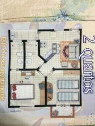 Flat de 02 quartos em Porto Seguro Bahia