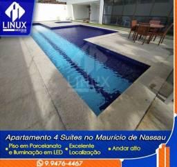 Vendo Apartamento de 140 m² com 04 quartos em Caruaru/PE.