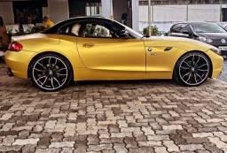 BMW Z4 M GP 23i IPVA 2021 pago c/ iDrive apenas 65 mil km rodas M
