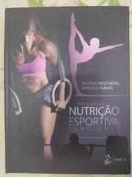 Livro  Tratado de Nutrição Esportiva Funcional, Valéria Paschoal e Andréia Naves