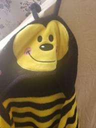 Manta infantil abelha