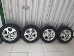 Roda original da Chevrolet aro 14