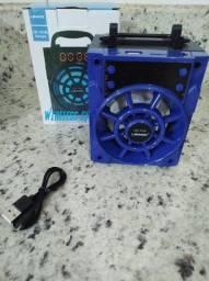 Caixa De Som Bluetooth Portátil Les 1018l Lehmox