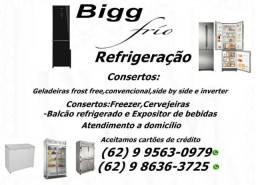 Conserto e Manutenção de Geladeiras e freezer