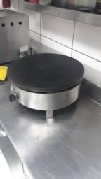 Máquina profissional de crepe gás original da França -Marca  Krampouz