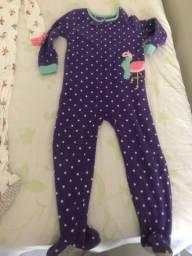 Pijama de dormir carters tamanho 5 anos
