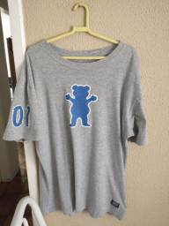 Camiseta Grizzly Cinza