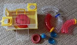 Vendo gaiola pequena para Hamster pequeno