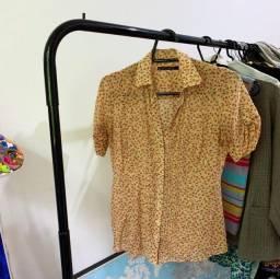 Camisa floral Zara