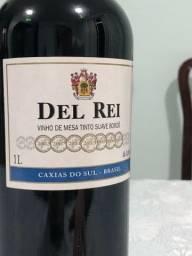 Vinho DEL REI Tinto Suave Bordo 1L 2013