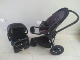 Carrinho Quinny Mood + Bebê Conforto com base