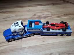 Caminhão Azul Voice Command Colecionador