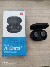 Vendo fone de ouvido bluetooth Redmi AirDOTS na caixa por R$100