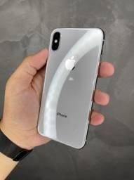 IPHONE X 64GB PRATA LINDO + CAPA E PELÍCULA DE BRINDE