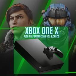 Xbox One X 1tb   Lacrado com garantia