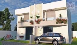 Casa com 3 dormitórios à venda, 90 m² por R$ 395.000,00 - Coroa Vermelha - Santa Cruz Cabr