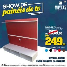 Painel de tv com friso no meio 100% MDF a partir de R$ 199,00