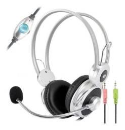 Headset Com Microfone P2 Chat Jogo Música Infokit Hm-610mv