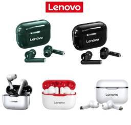 Fone Wireless Lenovo LivePods LP1 TWS Sem Fio BT 5.0 Original! Em 5 Cores Diferentes