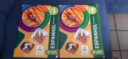Caderno 1 e 2 de espanhol 6° ano