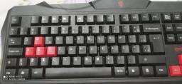 Teclado para digitação ou para games