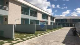 Apartamento Duplex com 2 dormitórios à venda, 91 m² por R$ 260.000,00 - Cambolo - Porto Se