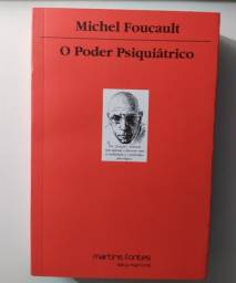 O Poder Psiquiátrico-Michael Foucault (1° edição)