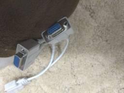 Cabo Y Vga Rgb Ligar Um Computador Em Dois Monitores