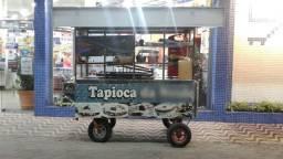 Carrinho Ambulante para Tapioca - Pastel - Porção