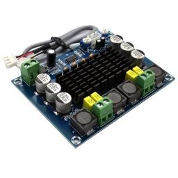 amplificador de áudio modulo placa tpa3116 estéreo 2x120w