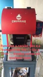 Máquina de assar ESPETINHOS Churras 360