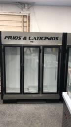 Expositor frios e laticínios 3 portas