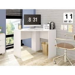 Título do anúncio: Mesa de Canto Cubic Branco Fosco Caemmun - Frete Grátis - Receba Hoje!