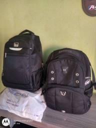 2 mochilas yes, swsswn, estado de nova original