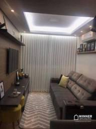 Apartamento com 2 dormitórios à venda, 55 m² por R$ 265.000,00 - Jardim Alvorada - Maringá