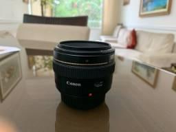 Lente canon 50 mm f 1.4