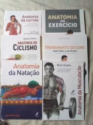 Livros de Anatomia Lacrados