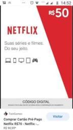 Vendo recarga da Netflix