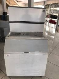Título do anúncio: Maquina de Gelo 150kg Deposito 250kg
