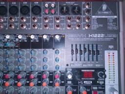 Mixer de áudio